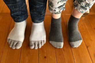 休日も銅繊維靴下^^ 夫婦でお気に入りです!