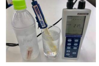 いろいろな水の酸化還元電位、計ってみました